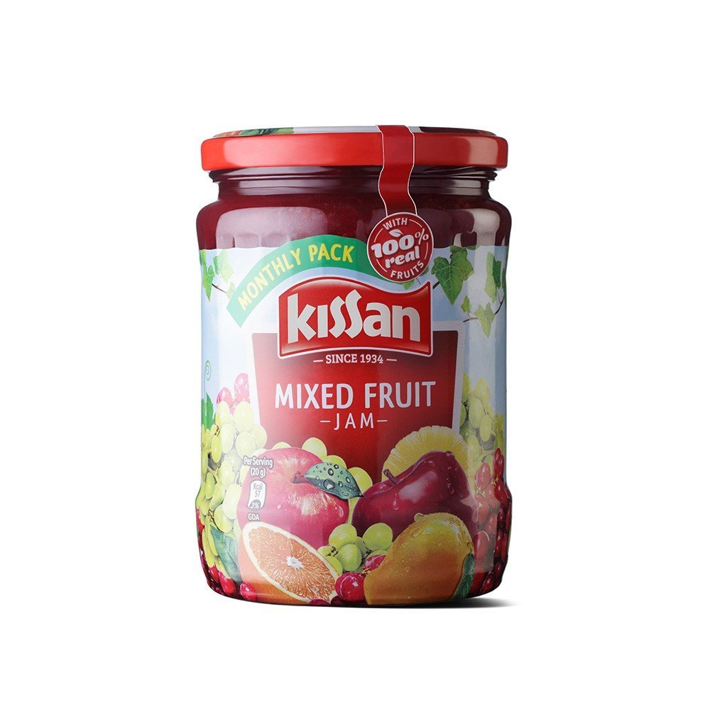 Kissan Mixed Fruit Jam Jar 700g