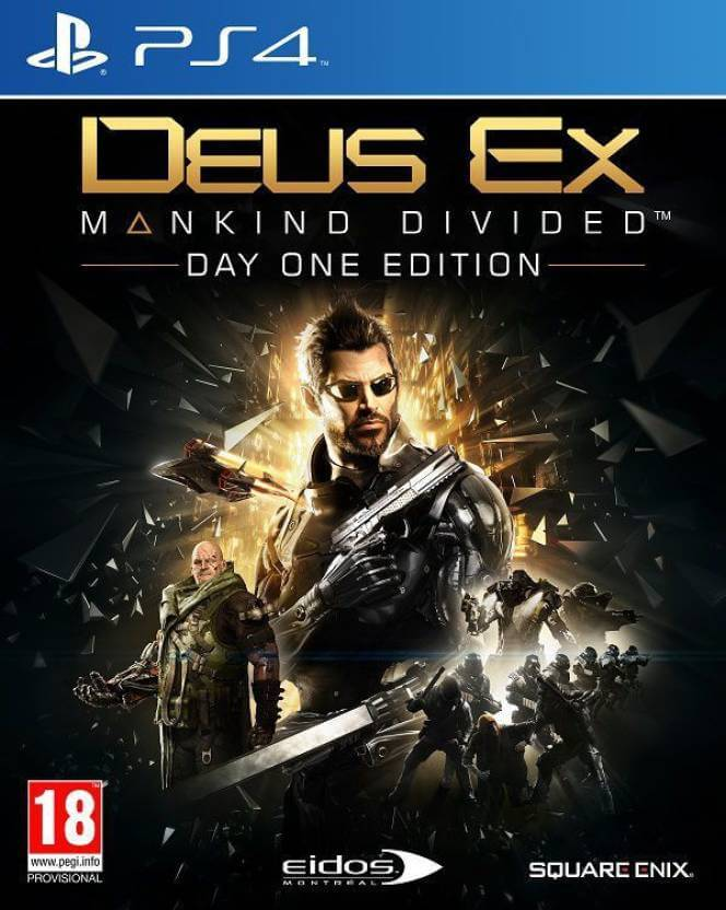 Deus Ex : Mankind Divided (For PS4)