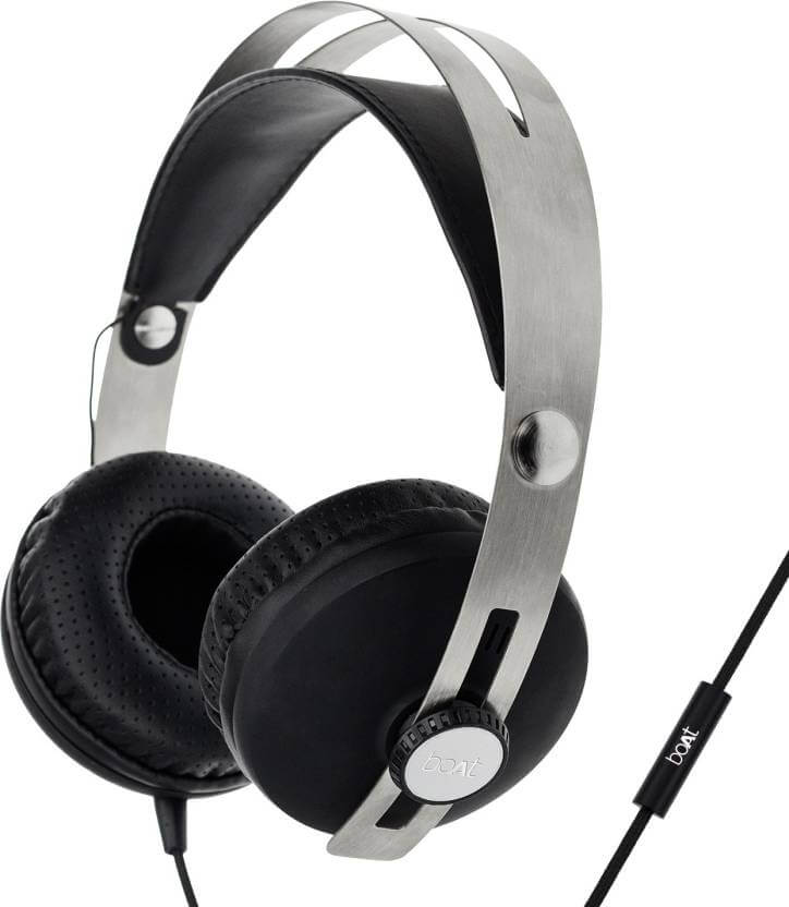 boAt BassHeads 800 Stereo Wired Headset With Mic