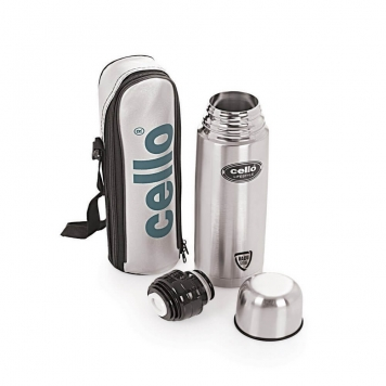 Cello Lifestyle Stainless Steel Flask 1000ml